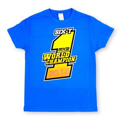 _Jorge Prado Champion T-Shirt Blau   JP61-300BL   Greenland MX_