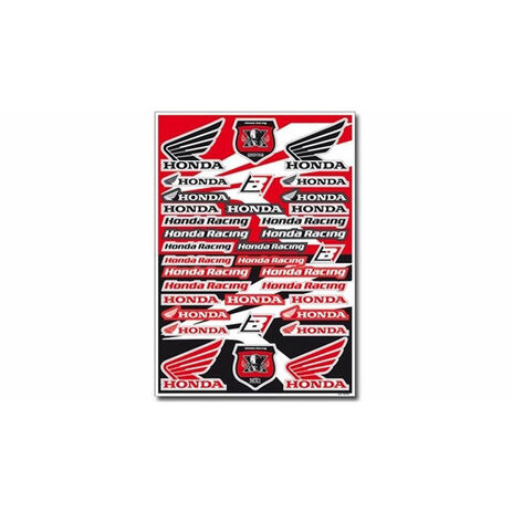 _Blackbird logo sticker kit Honda | 5076H | Greenland MX_