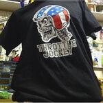 _TJ Usa Skull T-Shirt Schwarz L | CABSKULLUSA-L | Greenland MX_