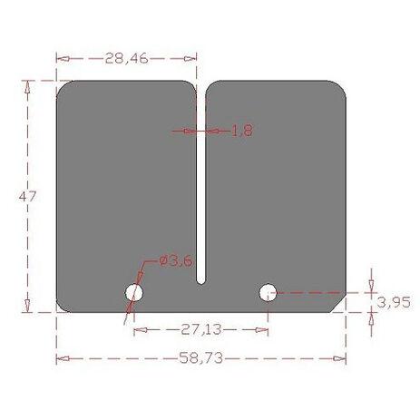 _Carbon-Membranen-Set Yamaha YZ 125 94-00 | CRX-182 | Greenland MX_