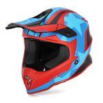 _Acerbis Steel Kind Helm Rot/Blau | 0023425.344 | Greenland MX_