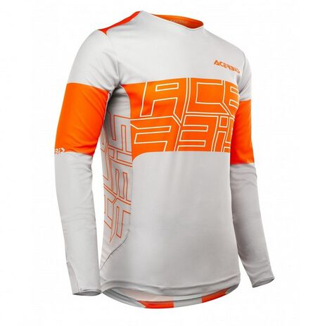 _Acerbis MX Linear Jersey Orange/Grau | 0023665.207 | Greenland MX_