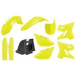 _Polisport MX Restyling Yamaha YZ 125/250 02-14 bis 15-18 Plastik Kit Gelb Fluo | 90745 | Greenland MX_
