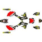 _Komplett Aufkleber Kit Kawasaki KX 250 F 13-16 Rockstar   SK-KX250F1316RKS-P   Greenland MX_