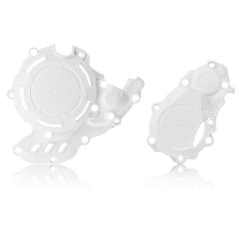 _Kupplungs- und Zündungsdeckelschutz Acerbis X-Power Husqvarna/KTM FC/SX-F 250/350 16-21 | 0023573.030-P | Greenland MX_