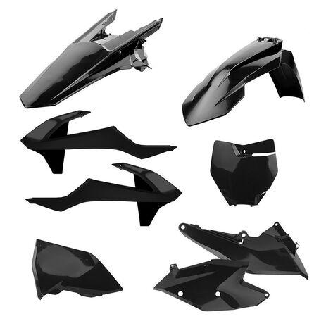 _Polisport Plastik Kit KTM EXC/EXC-F 17 Schwarz | 90709 | Greenland MX_