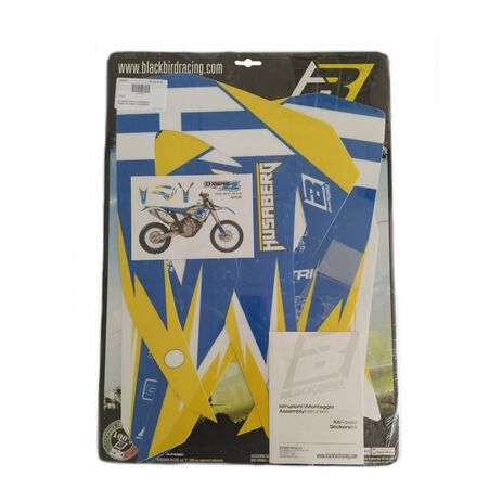 _Blackbird Aufkleber Kit Dream 4 Husaberg TE 11-12 FE/FS 09-12   2703N   Greenland MX_