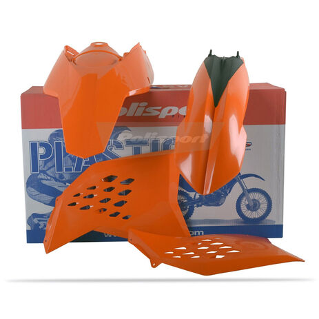 _Polisport Plastik Kit KTM SX 07-10 EXC/EXCF 08-11 Orange | 90182 | Greenland MX_