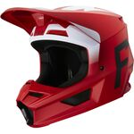 _Fox V1 Werd Helm Flame Red | 25473-122 | Greenland MX_