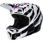 _Fox V3 Zebra Limited Edition Helm | 23659-559 | Greenland MX_