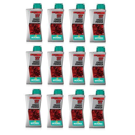 _Motorex Cross Power 2T Oil 12 Liter Box | MT003H002T-12 | Greenland MX_