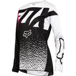 _Fox 180 Damen Jersey Schwarz/Pink | 19438-285-P | Greenland MX_