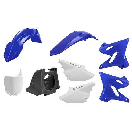 _Kunststoffteilekit Polisport Restyling Yamaha YZ 125/250 02-14 bis 15-18 OEM   90716   Greenland MX_