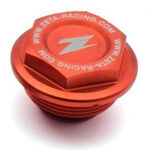 _Zeta Deckel Für Bremsflüssigkeitsbehälter Hinten KTM 125-530 04-.. Rear Brake Reservoir Cover Orange | ZE86-7110 | Greenland MX_