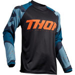 _Thor Sector Camo Jersey Blau | 2910-4913-P | Greenland MX_