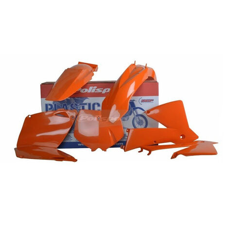 _Polisport Plastik Kit KTM EXC/EXC-F 01-02 Orange | 90652 | Greenland MX_