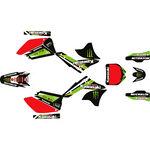 _Komplett Aufkleber Kit Kawasaki KX 250 F 06-08 Pro Circuit | SK-KX250F0608POPC-P | Greenland MX_