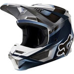 _Fox V1 Motif Helm | 21775-024-P | Greenland MX_