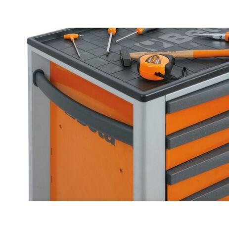 _Werkzeugwagen mit Fünf Schubladen Beta Tools | C24S-5-R-P | Greenland MX_
