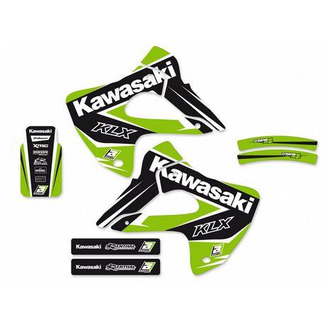 _Blackbird Dream 4 Aufkleber Kit Kawasaki KLX 300 97-08 | 2412N | Greenland MX_
