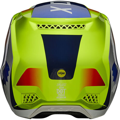_Fox V3 RS Wired Helm | 25814-130 | Greenland MX_